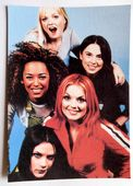 Spice Girls - 'Group Blue' Postcard